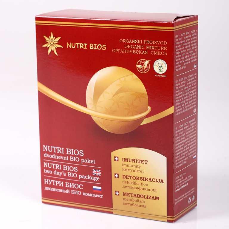 Nutri Bios dvodnevni paket
