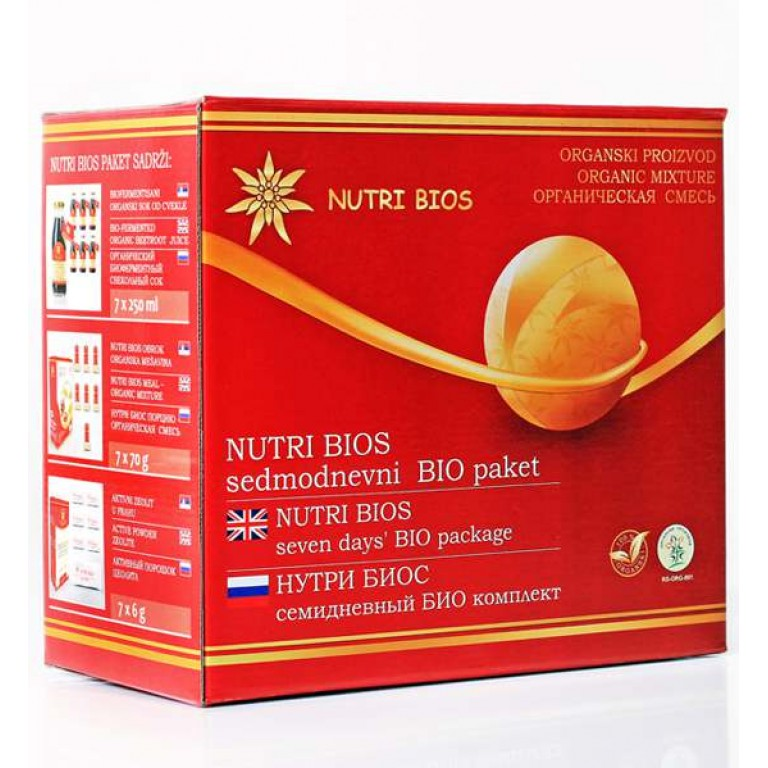 Nutri Bios sedmodnevni paket